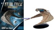 Star Trek Discovery Starships Collection #4 Klingon Bird Of Prey Starship Eaglemoss